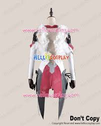 guilty crown cosplay inori yuzuriha white battle dress costume