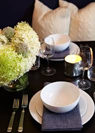 tables in central park 55 central park west chambray napkins metal tabletop chango