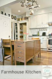 Kitchen Makeover Blog - farmhouse tour diy show off diy decorating and home