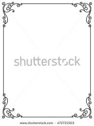 vector image decorative ornamental frame stock vector 472721503