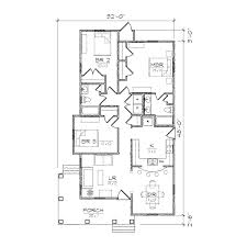 bungalow 2 bedroom house plans
