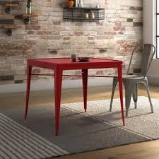 metal kitchen furniture metal kitchen dining tables you ll wayfair