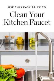 How To Clean Kitchen Faucet Cleaning Kitchen Faucet Dishwashing Gloves Stock Photos U0026