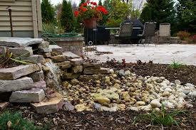 Rock Gardens Green Bay by Outdoor Water Features Falls Fountains And Ponds In Appleton