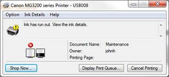 reset canon ip2770 blinking to fix canon printer ink error for canon ink cartridges