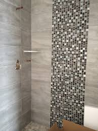 12 x 24 porcelain shower walls w and glass tile lisello