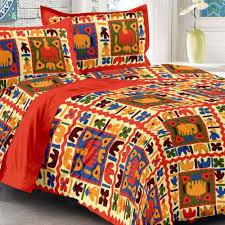 Bed Sheet Set Uniqchoice Cotton King Size Bed Sheet Set Bed Sheets Homeshop18