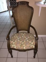 i have a heritage grand tour dining room tangle with 6 cane back