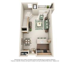 1 Bedroom Loft Apartments by Stone Creek Gardens West Side Madison Apartments Wi