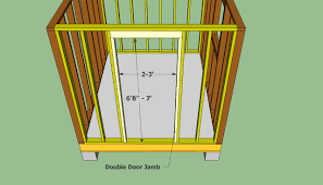 Plans For Garden Sheds by Shed Doors Plans Building A Storage Shed 7 Simple Steps To