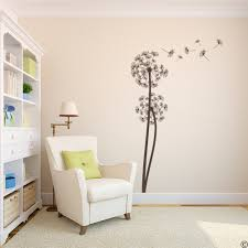 dandelions vinyl wall decal with 6 diy floating seeds for living dandelions vinyl wall decal with 6 diy floating seeds for living room more k684