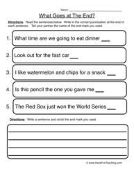 15 best images of punctuation worksheets grade 5 6th grade