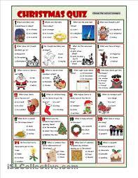 christmas quiz teaching tips pinterest christmas worksheets