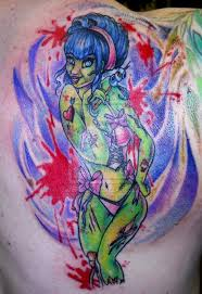 30 best zombie pin up tattoo flash images on pinterest tattoo