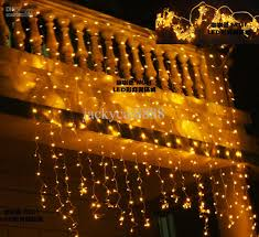 led lights curtain christmas decoration garden and beautiful