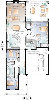 narrow lot house plan bedroom house plans without garage small cottage block n flo