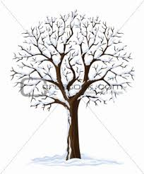 image 745314 vector silhouette of winter season tree from