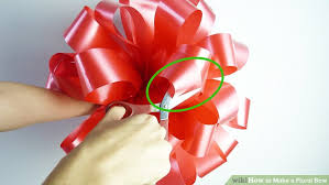 flower bow 3 ways to make a floral bow wikihow