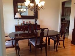 Ethan Allen Dining Room Set - Ethan allen dining room table chairs