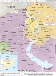 Syria On The Map by Us Is Backing The Syrian Kurdish Offensive To Cut Isis U0027 Link To Turkey
