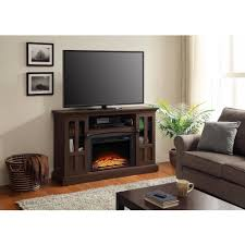 whalen media fireplace console for tvs up to 60