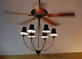 Replace Chandelier Ceiling Fan With Chandelier Light And White Replace Home Depot