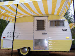 Small Caravan Awnings Vintage Camper Awning By Sew Country Awnings By Sewcountryawnings