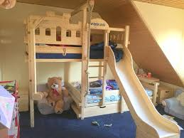 Bunk Bed With Pull Out Bed Bunk Bed Slide Are They Really Useful Modern Bunk Beds Design