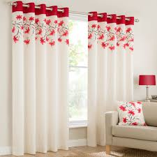 mirabel lily floral luxury curtain panels with grommets and