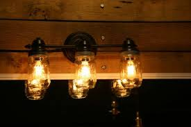 bathroom vanity light bulbs vanity light wall sconce 3 mason jar bathroom light edison bathroom