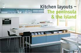 peninsula island kitchen clever storage the peninsula the island