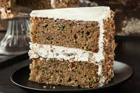 zucchini layer cake with tangy buttercream frosting recipe chowhound