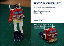transformer birthday decorations events transformers birthday party