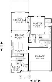 simple small south facing house floor plans craftsman style plan