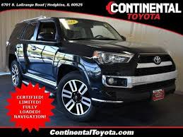 continental toyota used cars toyota 4runner limited v6 in illinois for sale used cars on
