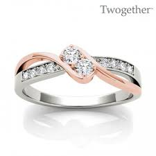 two diamond ring two diamond ring heiser s jewelry