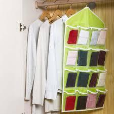 aliexpress com buy 16 pocket over door hanging bag shoe rack