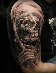 upper arm skull tattoos 3d skull tattoos 3d tattoos tattoo