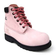 womens safety boots canada womens pink work boots popular green womens pink work boots