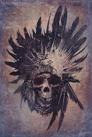 by christopher lovell i would get the headdress and a native