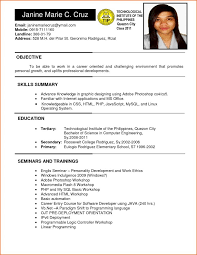 Sample Engineering Student Resume by Ojt Template On The Job Training Ojt Programme Mafiadoc Com