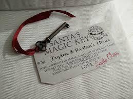 santa key santa s magic key tag santa s magic key handmade