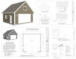 24 24 cabin plans with loft pinterest simple house corglife