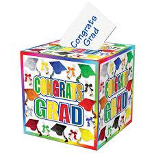 graduation party supplies 6ct beistle graduation card box bulk party supplies