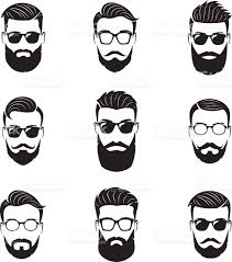 beard clip art vector images u0026 illustrations istock