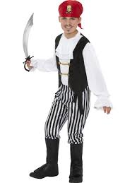 boys pirate costume captain jack sparrow costume for boy party