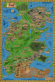 7 Kingdoms Map Map Of Westeros Resources A Game Of Thrones A Detailed Map Of