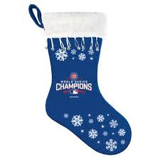 chicago cubs holiday decorations ornaments stockings santa hats