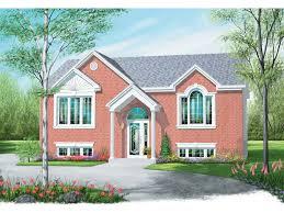 split level front porch designs verden pasture split level home plan 032d 0407 house plans and more