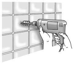 How To Install Bathtub Grab Bars How To Install Shower Or Tub Grab Bars Dummies
